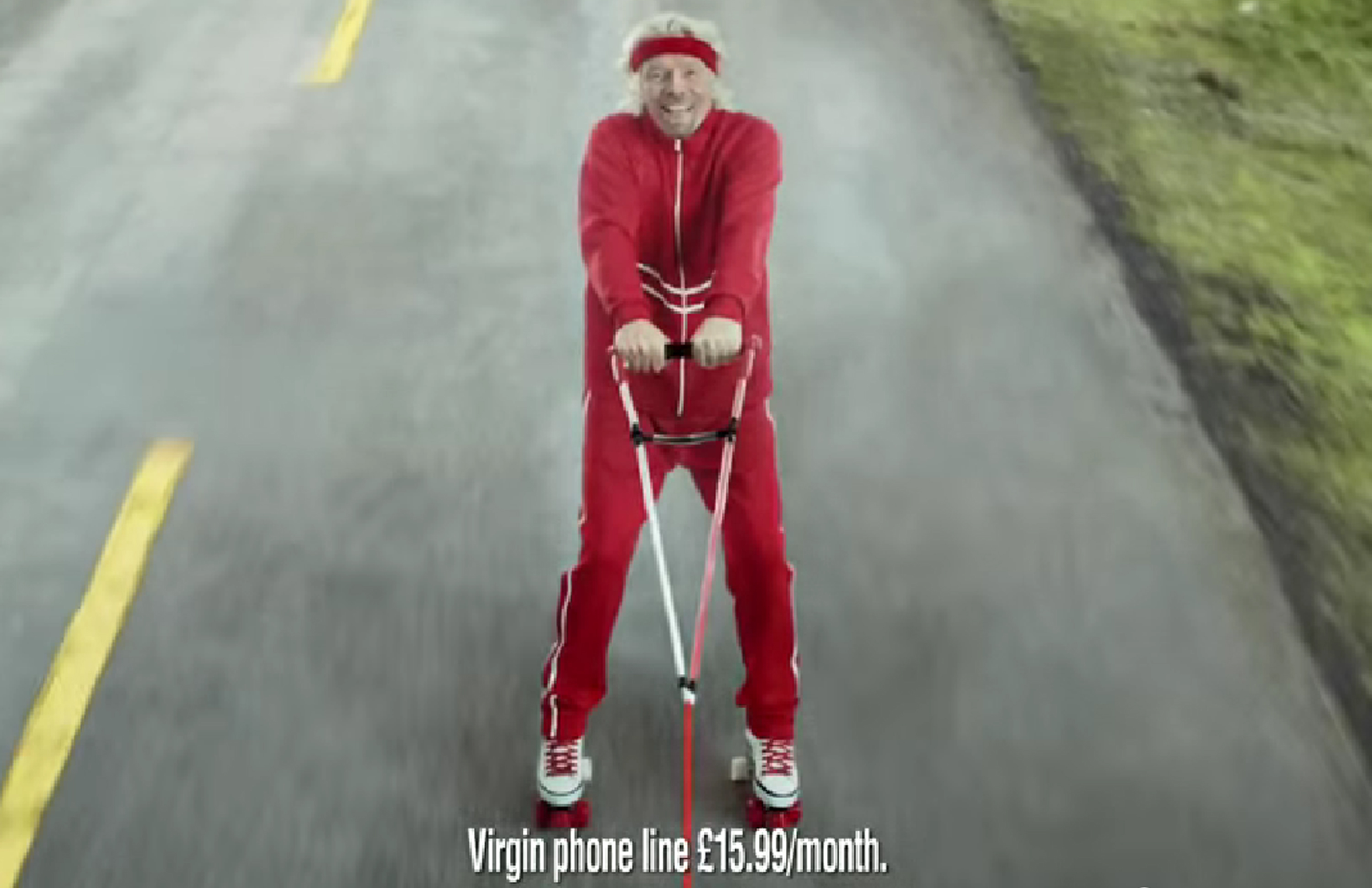 Richard Branson Virgin Media Advert