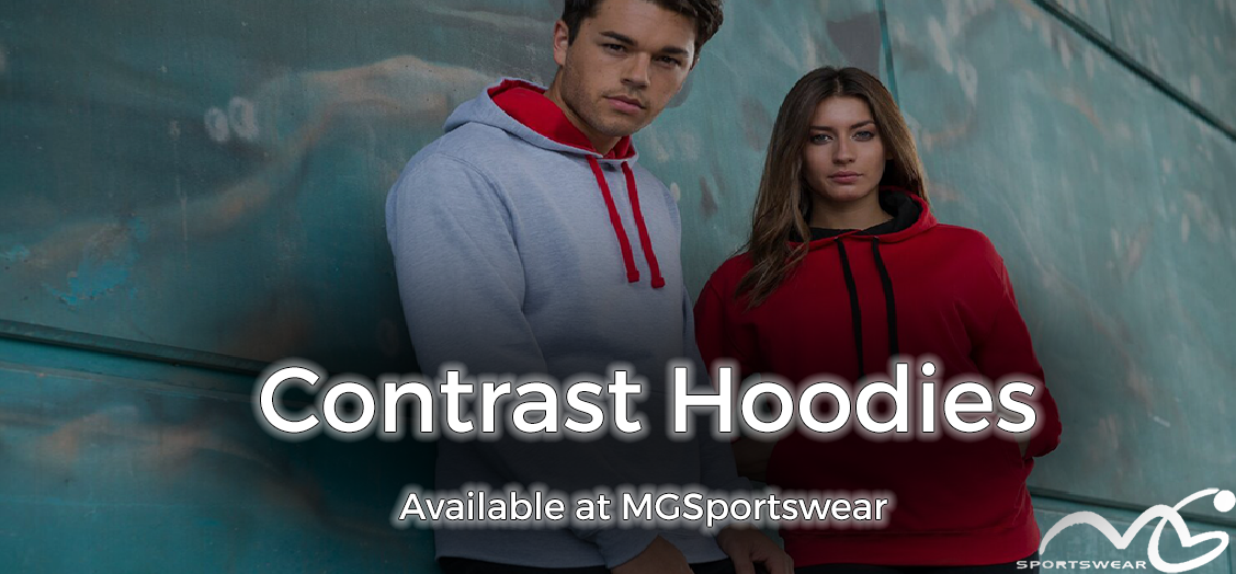 Buy Your Contrast Hoodies at MGSportswear