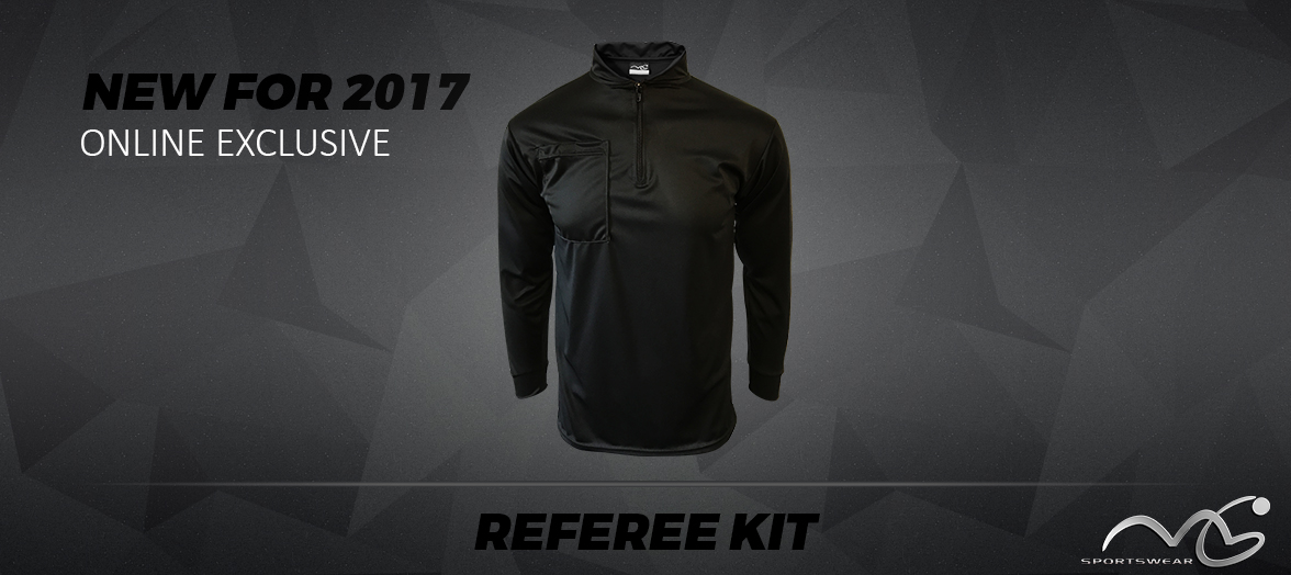 MG Sportswear New Referee Kit