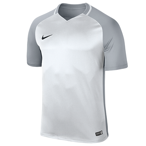 bb07563bf14 Nike Trophy III Football Shirts  Nike Trophy III Football Shirt White Wolf  Grey Black Short Sleeve