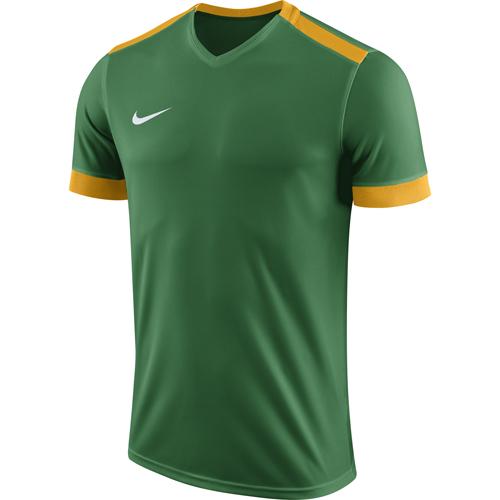 Nike Park Derby II Football Shirts  Nike Park Derby II Football Shirt Pine  Green University Gold Short Sleeve 0d26231c8