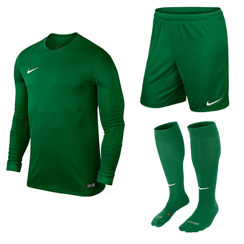 c5e7d29a411 Football Kit Special Offers  Nike Park VI Kit Bundle Green