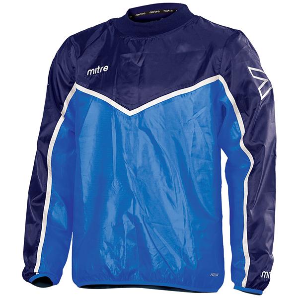 Mitre Childrens Primero Woven Football Training Track Jacket