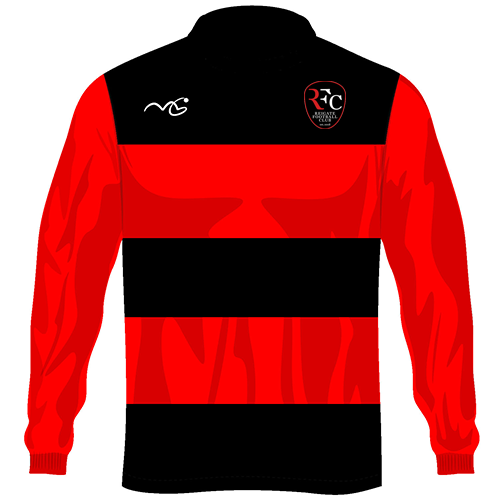 Reigate Playing Shirt Black/Red