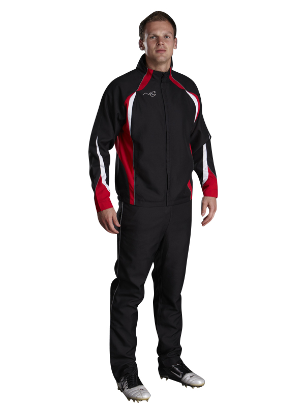 Performance Tracksuit Black/Red/White